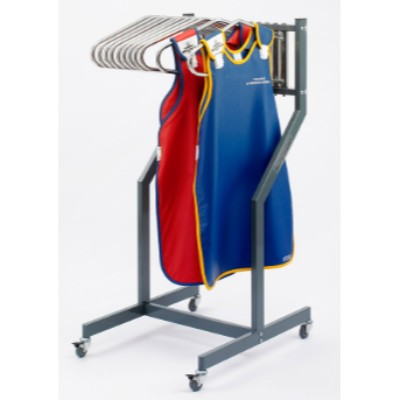 Mobile stand for aprons